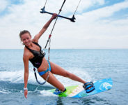 The travel report for kitesurfing in Rhodes